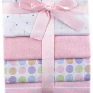 Luvable Friends Other - Luvable Friends 4-Pack Flannel Receiving Blankets